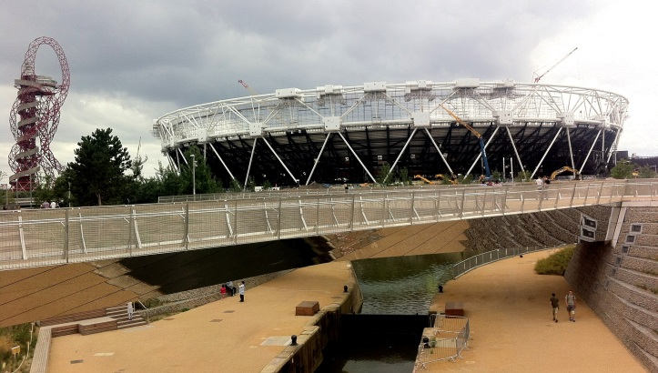 Queen Elizabeth Olympic Stadium Stratford London