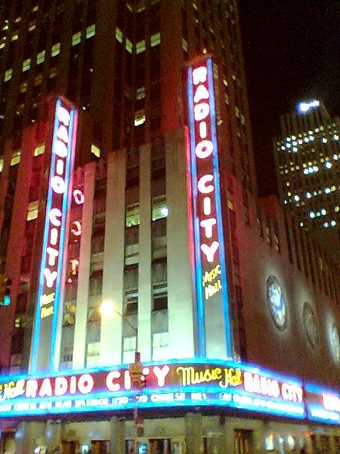Radio City Music Hall, NY