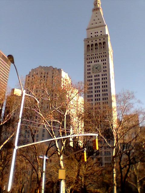 Vista desde Central Park, NY
