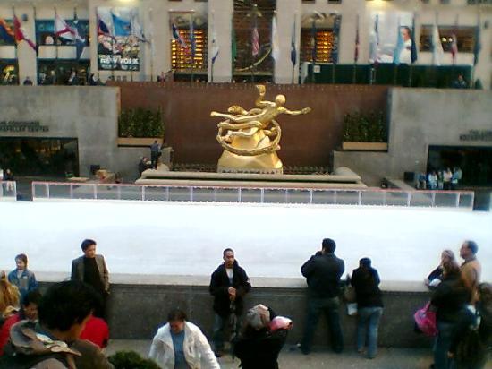 Pista de hielo, Rockefeller centre