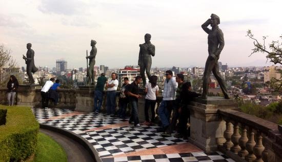 Niños héroes, Chapultepec, DF México