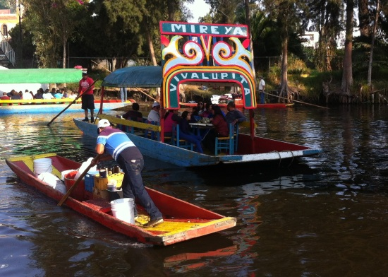 Trajineras Xochimilco, DF México