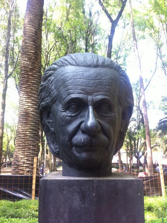 Einstein en Condesa, DF México