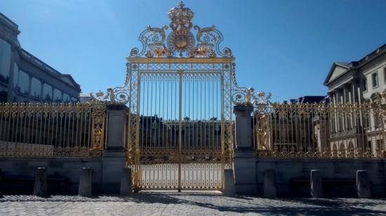 Puerta del Palacio de Versalles