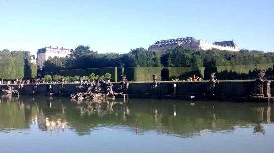 Fuente en el palacio de Versalles