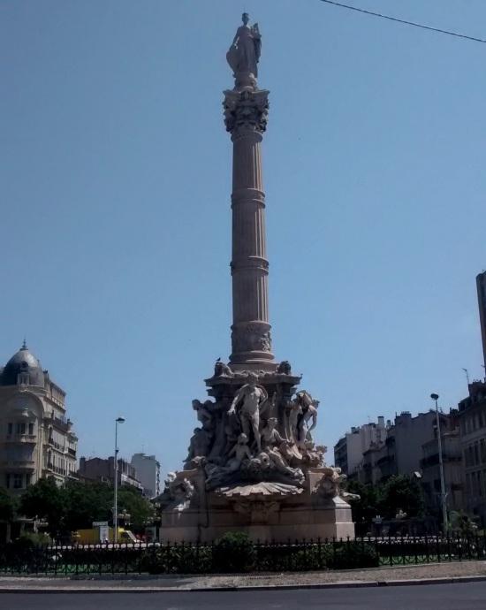 La Castellane en el centro de Marsella