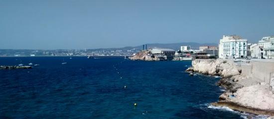 Marsella en el Mediterráneo
