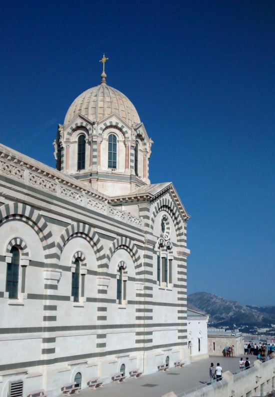 Basílica de Notre Dame de la Garde en Marsella