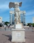 Plaza de Europa en Montpellier