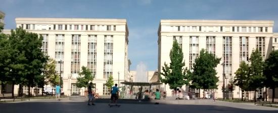 Plaza Théssalie en Montpellier