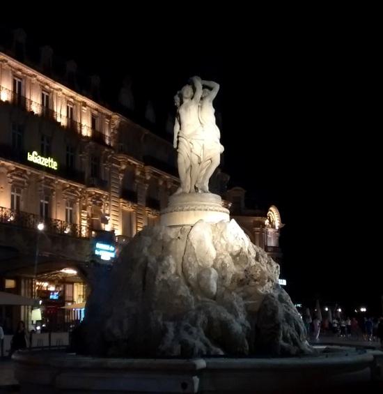 Plaza de la Comedia en Montpellier
