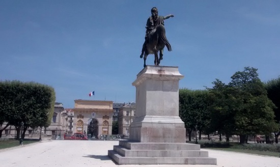 Plaza real de Peyrou Montpellier