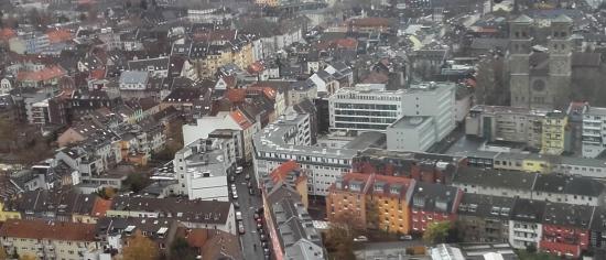 Vista desde el Triangle de Colonia