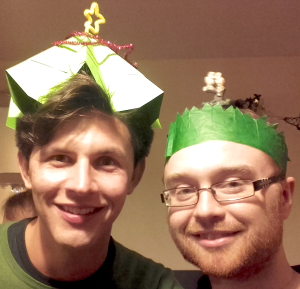 Sombrero poligonal de 16 lados