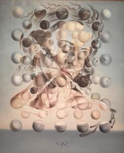 Gala, pintada por Dalí