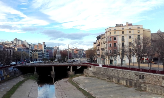 Río Onyar en Girona