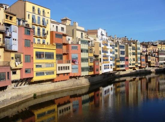 Río Onyar en Girona (yo no tomé esta foto)