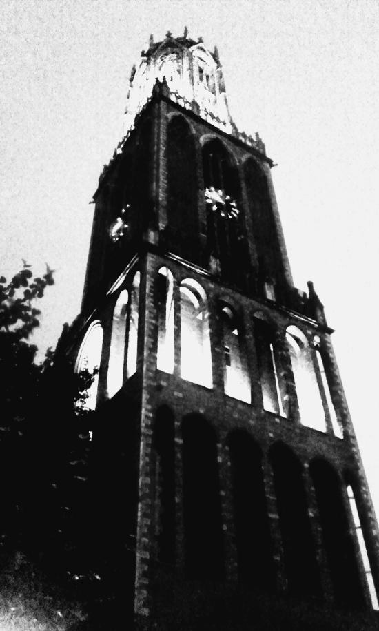 Dom Tower de Utrecht (con efectos de mi cámara)